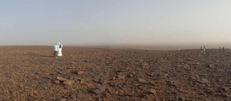 Caravana al desert i moviment yin-yang